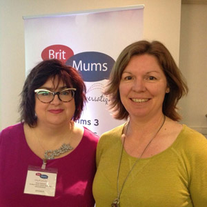 Britmums presenters Alison & Robin