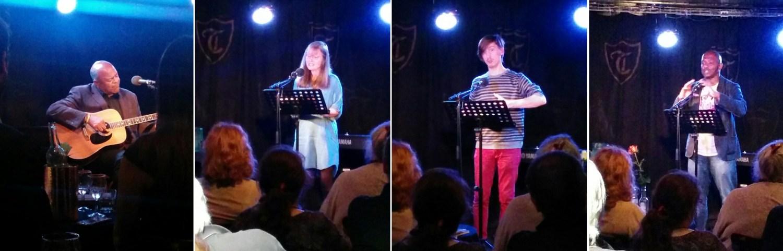 Sharman, Stone, Mahoka - Troubadour poetry readings