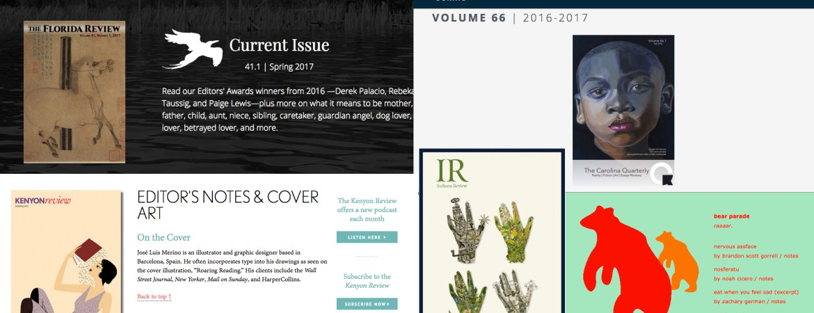 some US poetry mags