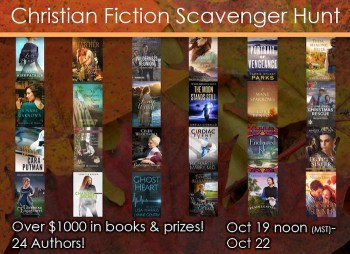 Christian Fiction Scavenger Hunt Stop #2