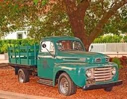 Vintage Truck - Napa Valley