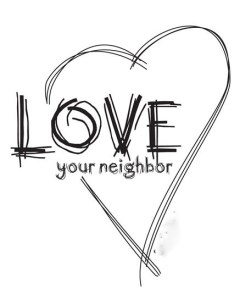 Love your neighbor (2)
