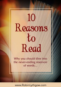 A never-ending reservoir of stories lies waiting for you to dive in. Literacy is incredibly powerful! Let me give you 10 reasons to read…