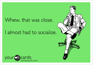 Introverts…