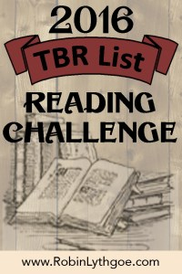 TBR Challenge 2016 — Enter to win a free book!