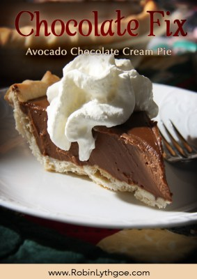 Avocado Chocolate Cream Pie sounds weird, right? But it's so smooth and scrumptious—and the texture is to die for!