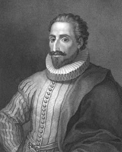 Miguel de Cervantes, by Frederick Mackenzie