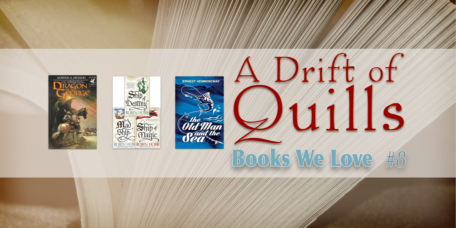 "A Drift of Quills: Books We Love #8 — A Drift of Quills adheres firmly to the adage that you can never have (or read) too many books. And here we are again, reading and sharing our finds in another installment of ""Books We Love…"""