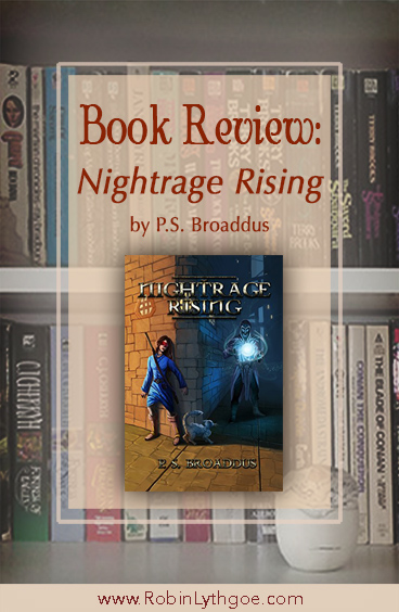 I just read Nightrage Rising (The Unseen Chronicles Book 2), and wow, what a great adventure! I'm not just saying that because author P.S. Broaddus is a member of A Drift of Quills, either. He's a darned good writer.
