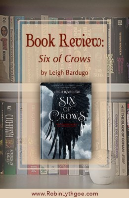 """Six of Crows,"" by Leigh Bardugo, is one of those rare books that keeps you turning pages. Rich and dark, the story is full of moral dilemmas, magic, and clever twists. [www.robinlythgoe.com]"