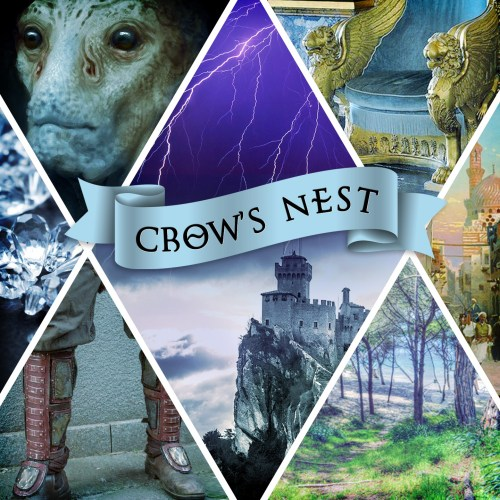 Inspiration board for Crow's Nest, by Robin Lythgoe