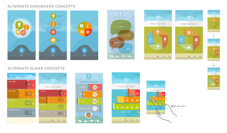 Google Wellbeing Mobile App - Alternate Concepts