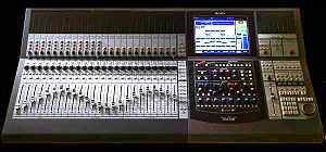 Sony DMXR 100 Digital Mixer taken at NAMM showroom