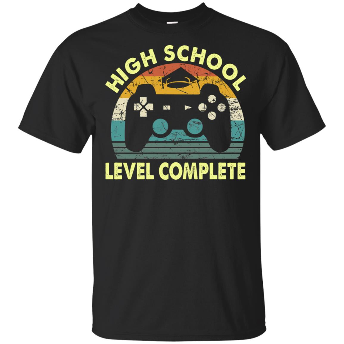 High School Level Complete Gamer Graduation T Shirt