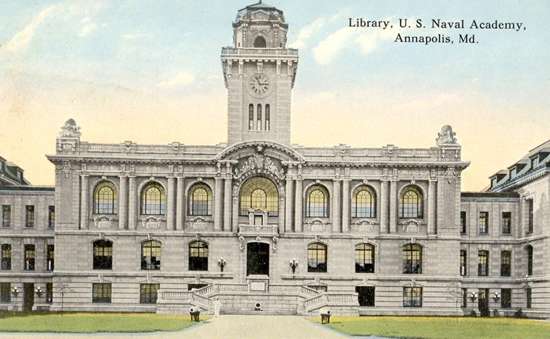 Academic Building at the USNA, Mahan Hall