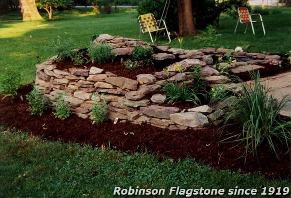 Garden Pond Edging Stones