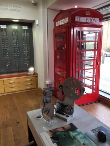 British design at Robinson Optomoetrists