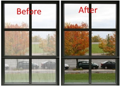 If you hae a foggy double pane window, we can repair it