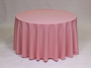 Mauve tablecloth, linen and napkin rentals in Hudson and Framingham, MA