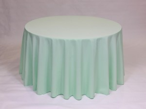 Mint tablecloth, linen and napkin rentals in Hudson and Framingham, MA