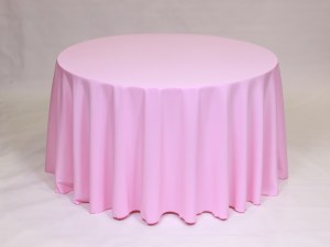 Pink Balloon tablecloth, linen and napkin rentals in Hudson and Framingham, MA
