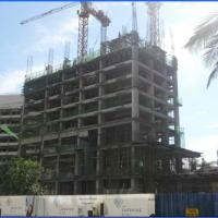 The Sapphire Bloc North Tower Progress Photos as of August 1, 2013