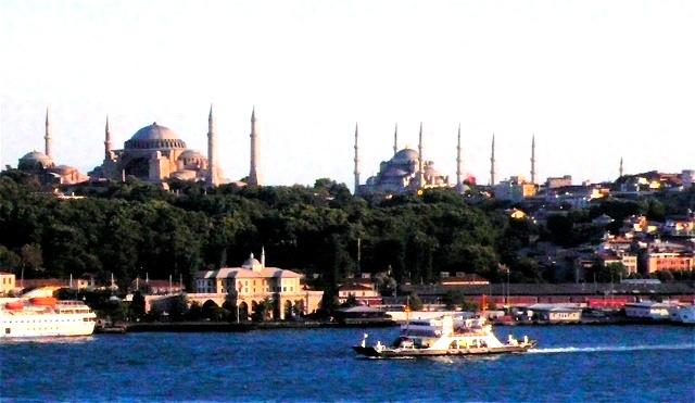 Blue Mosque vu