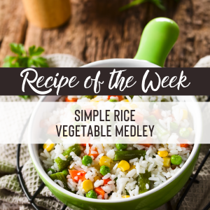 Simple rice vegetable medley recipe