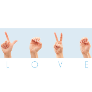 love in sign language