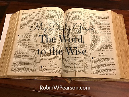 The Word, to the Wise