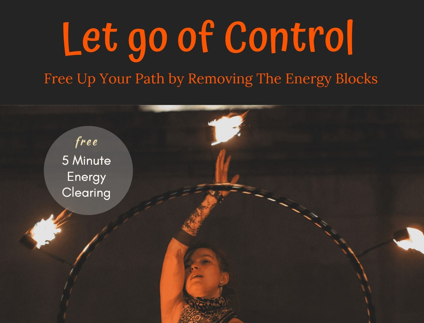 Energy Clearing to Let Go