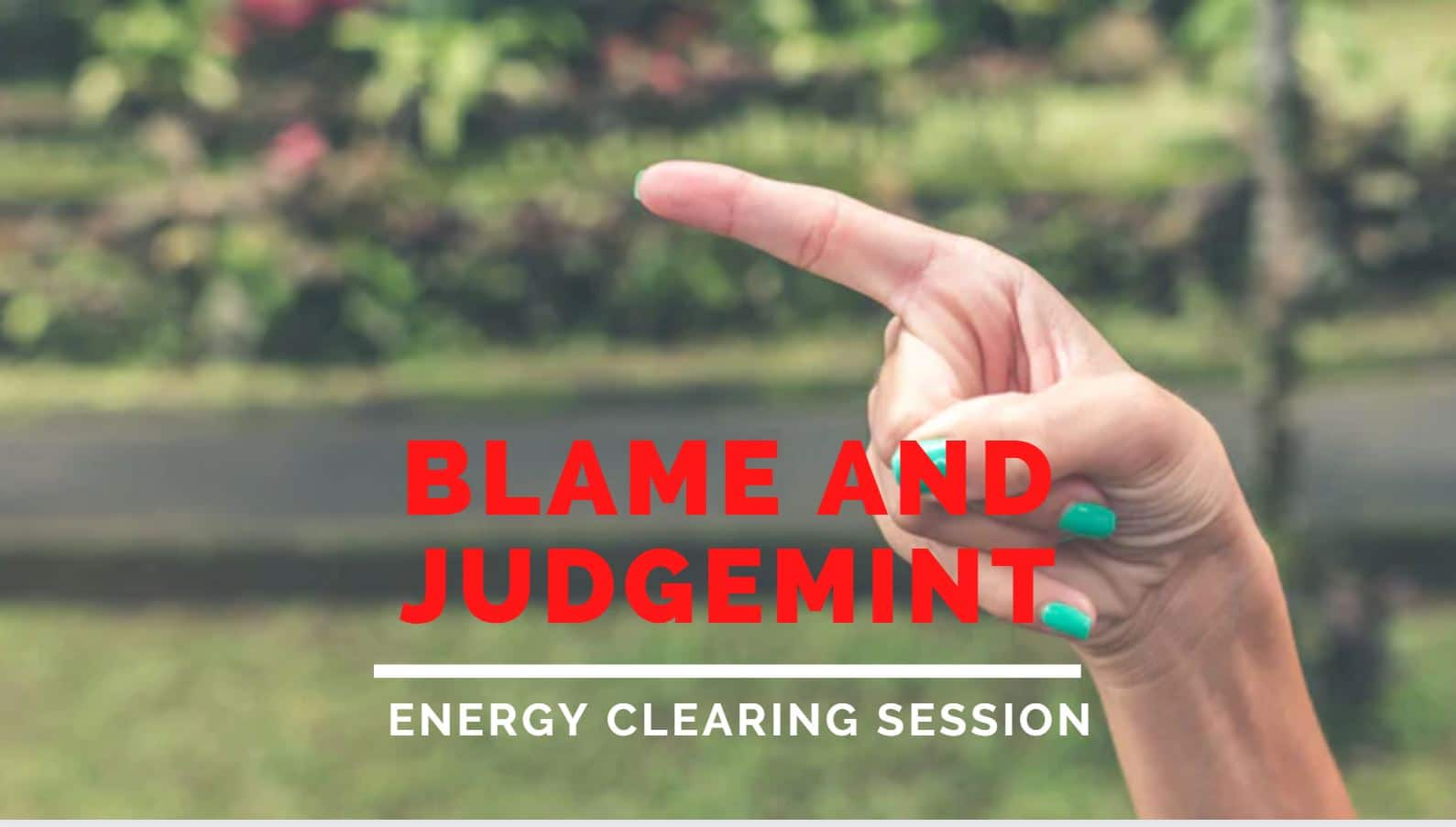 Blame and Judgement