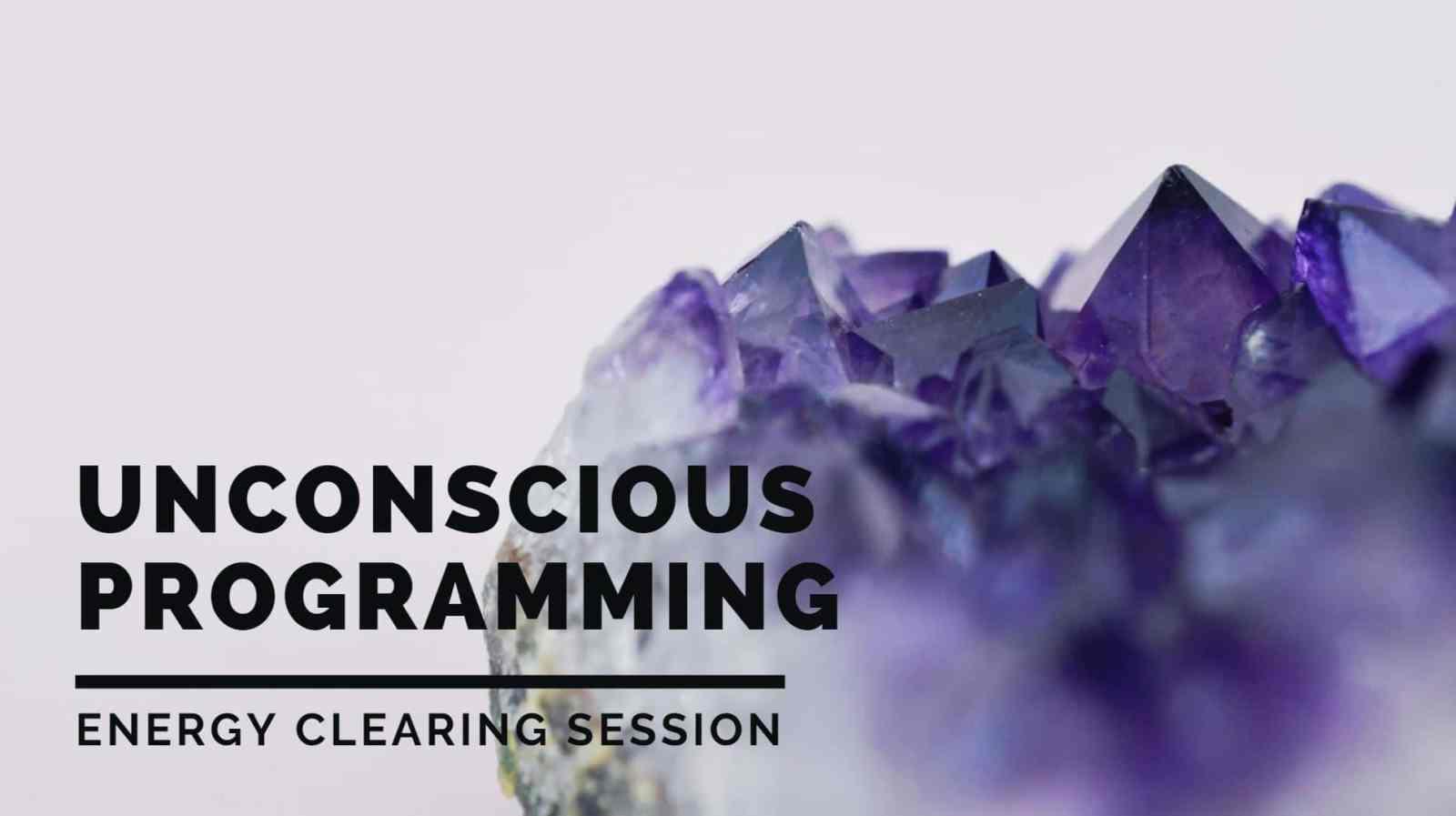 Unconscious habits