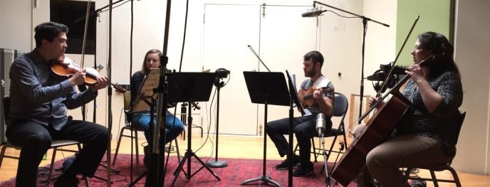 Recording strings for Touchdown Israel and IFFBoston
