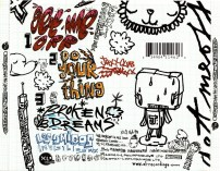 Basement Jaxx-Get Me Off (CD 1) drawings and type