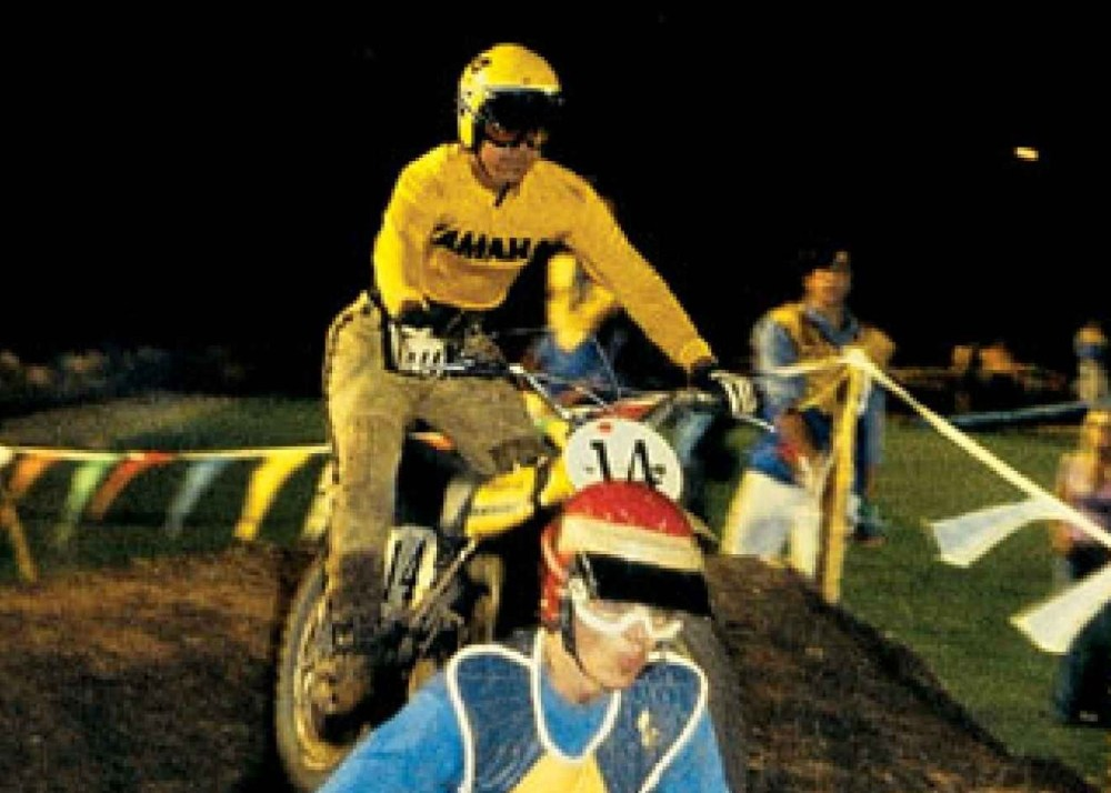 Marty Tripes and friends celebrate his 1972 Superbowl of Motocross Victory! (5/6)