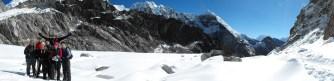 Top of Cho-La Pass