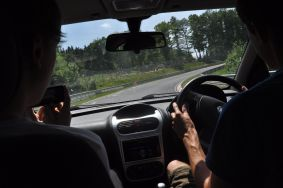 Driving the Nurburgring Track