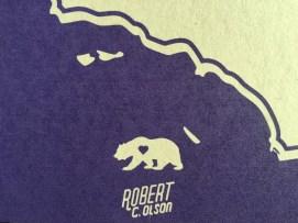 California Bear Detail