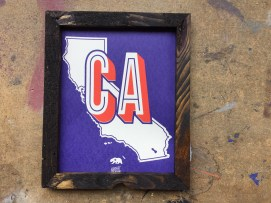 California Clean Print Frame