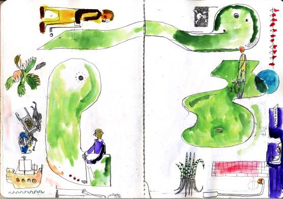 Pirate Golf, Hastings