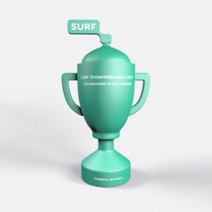 Trofee voor Surfnet