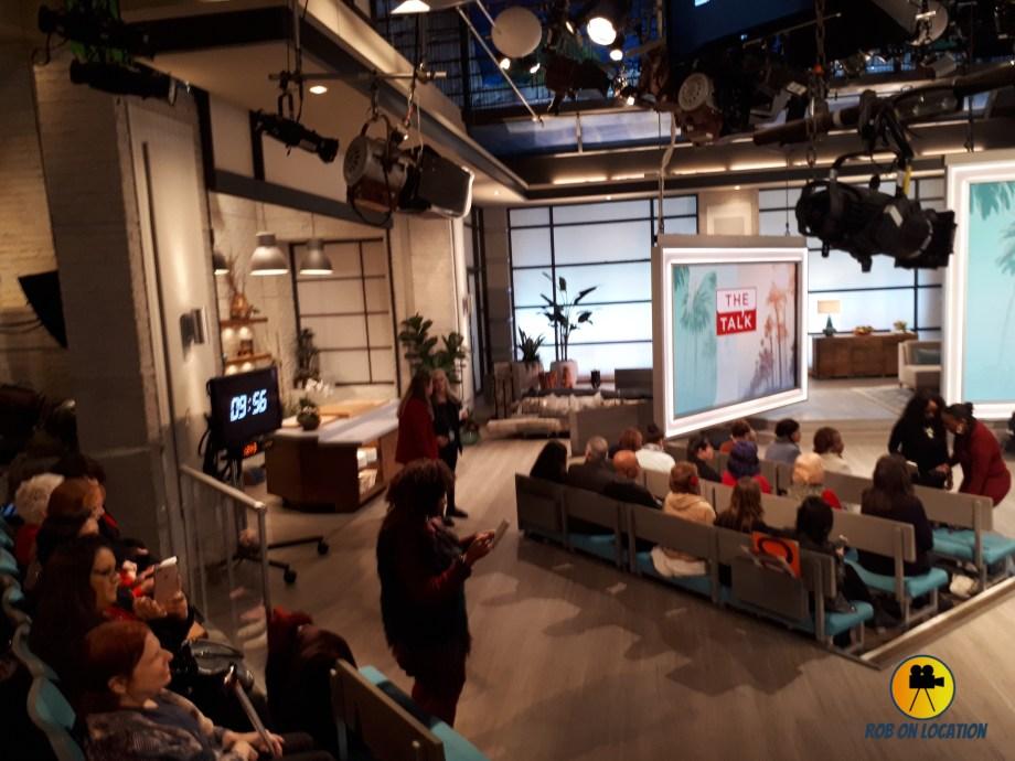 The Talk studio set