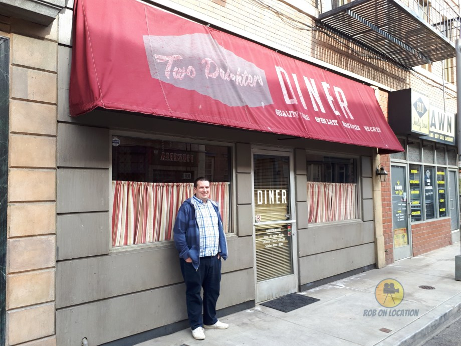 me at Tuscadero's Pizza from American Housewife
