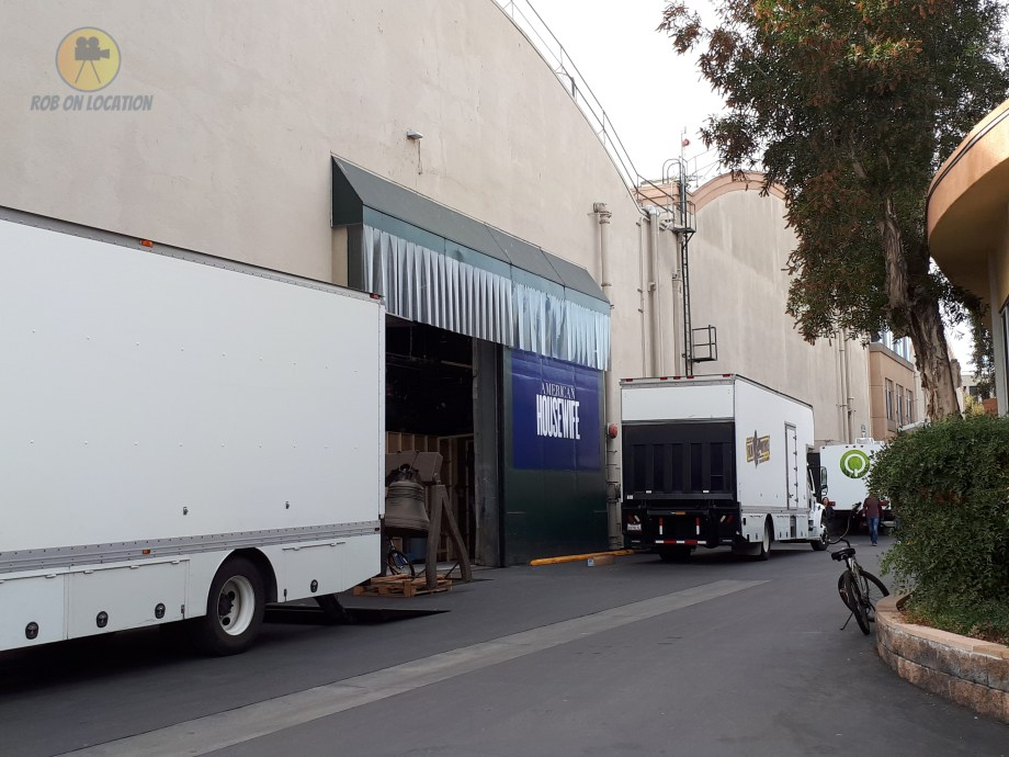 American Housewife soundstage at CBS Studio Center