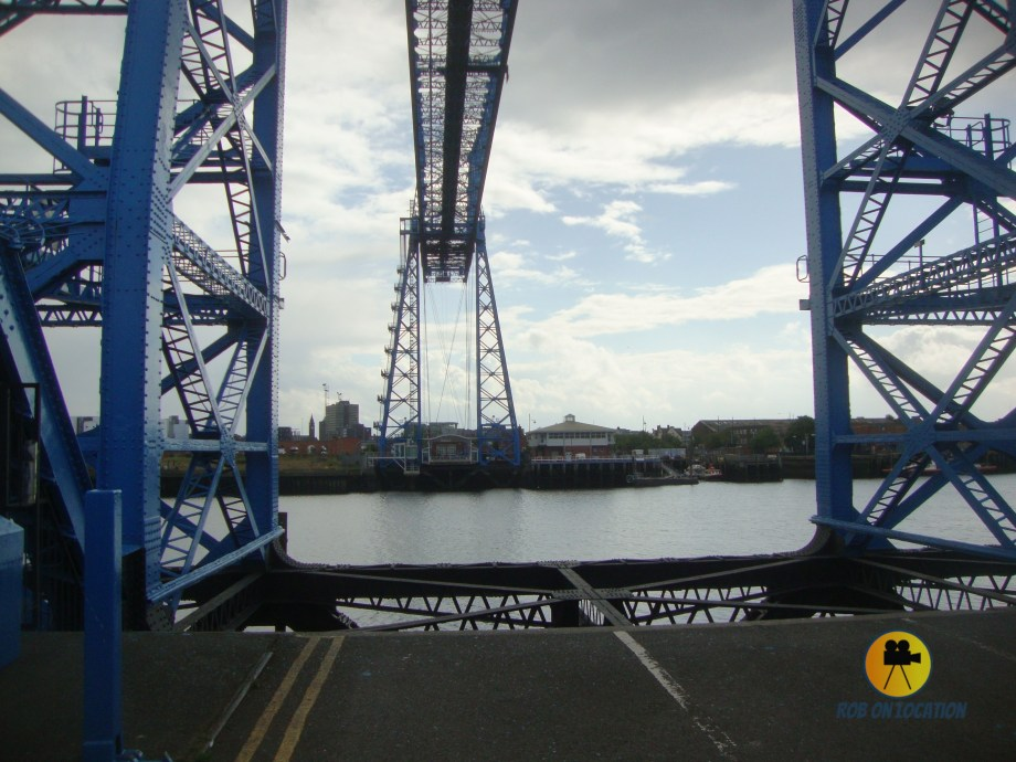 Tees Transporter Bridge from Billy Elliot