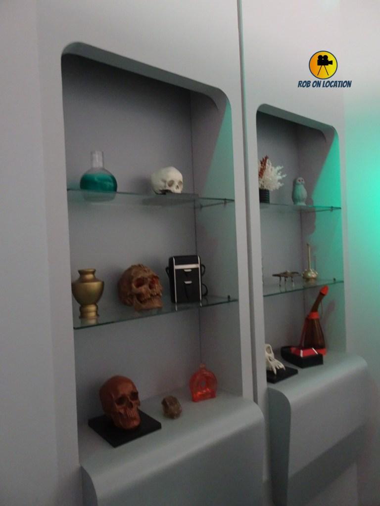 Star Trek set - Dr. McCoy's office