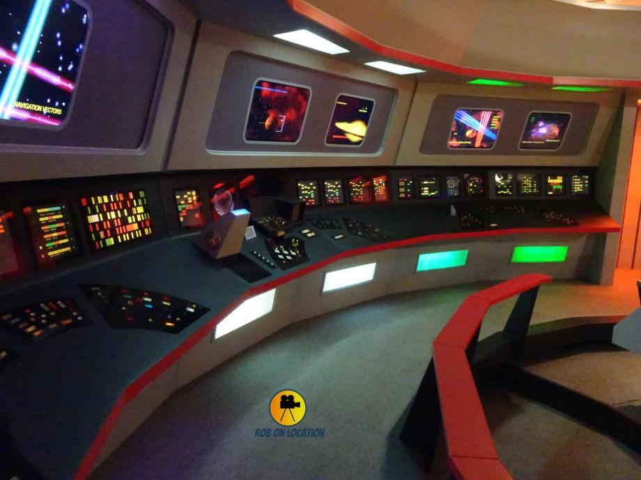 Star Trek Set Tour - The Enterprise Bridge