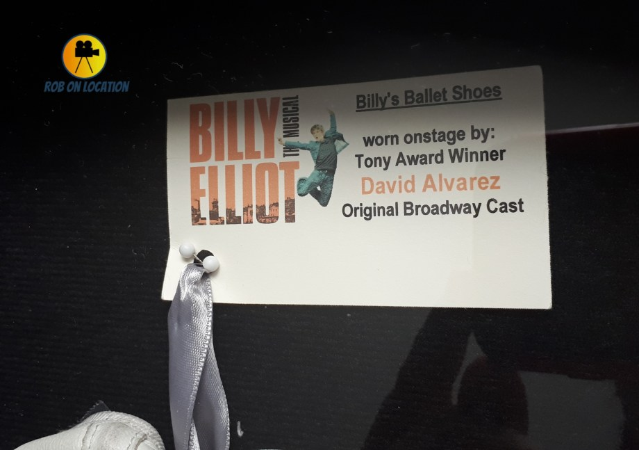 Billy Elliot ballet shoes David Alvarez