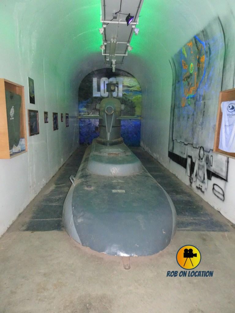 Lost submarine